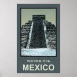México Chichen Itza Poster
