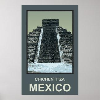 Mexico Chichen Itza Poster