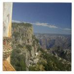 México, chihuahua, barranco de cobre. Visión desde Azulejo Cuadrado Grande