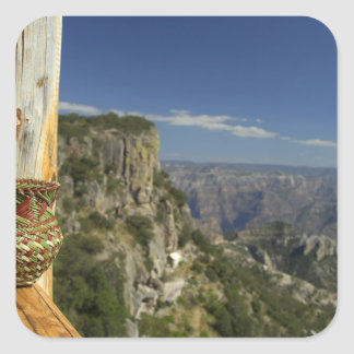 México, chihuahua, barranco de cobre. Visión desde Pegatina Cuadrada