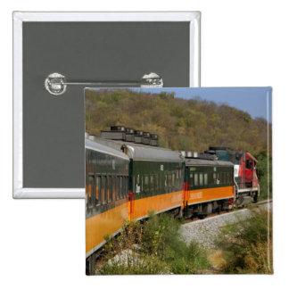 México, chihuahua, barranco de cobre. Visiónes des Pin Cuadrada 5 Cm