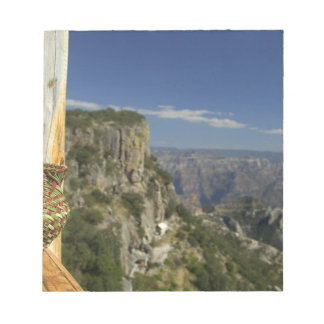 Mexico, Chihuahua, Copper Canyon. View from Notepad