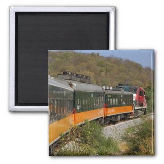 Mexico, Chihuahua, Copper Canyon. Views from 2 Inch Square Magnet