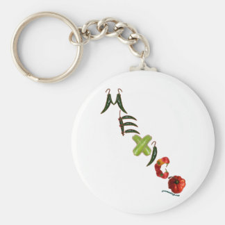 Mexico Chili Peppers Keychain