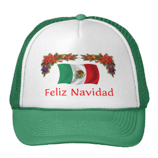Mexico Christmas Trucker Hat