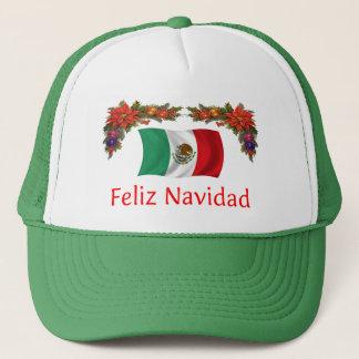 Mexico Christmas Trucker Hat