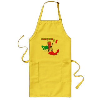 Mexico Cinco de Mayo T-shirts and Gifts Long Apron