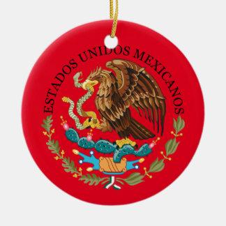 Mexico Circle Ornament