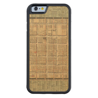 Mexico City 3 Carved® Maple iPhone 6 Bumper