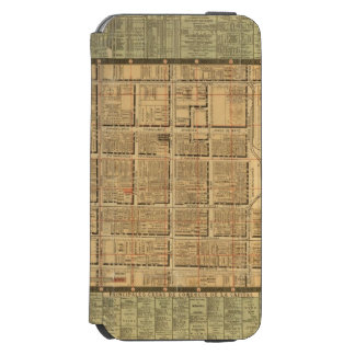 Mexico City 3 iPhone 6/6s Wallet Case
