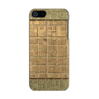 Mexico City 3 Metallic Phone Case For iPhone SE/5/5s