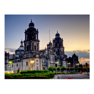 Mexico City Cathedral Postcard