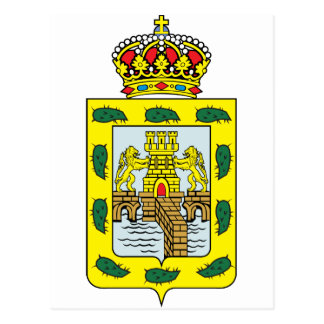 Mexico City Coat Of Arms Postcard