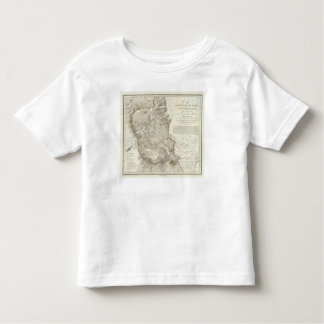 Mexico city map toddler t-shirt
