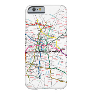 Mexico City Metro Map Barely There iPhone 6 Case