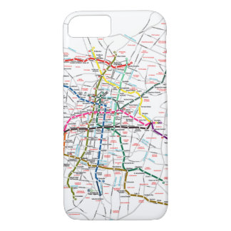 Mexico City Metro Map iPhone 8/7 Case