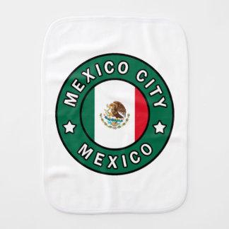 Mexico City Mexico Burp Cloth