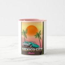 Mexico City , mexico holiday poster