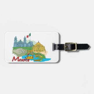 Mexico City, Mexico Luggage Tag