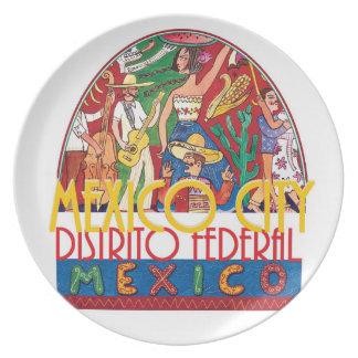 MEXICO CITY Mexico Plate