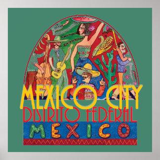 MEXICO CITY Mexico POSTER Print