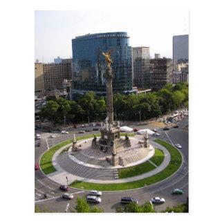 Mexico City Paseo de la Reforma Post Card