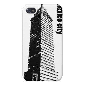 Mexico City Seguros Latinos building Iphone 4 cas iPhone 4 Covers