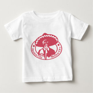 Mexico City Stamp Baby T-Shirt