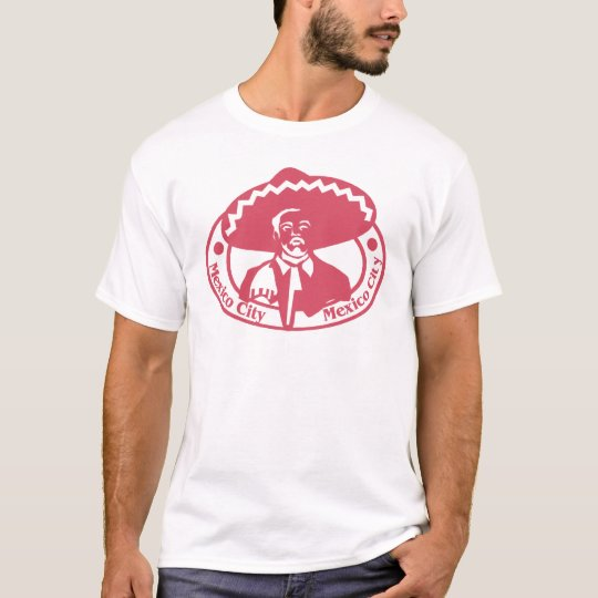 Mexico City Stamp T-Shirt