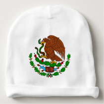 Mexico Coat arms Baby Beanie