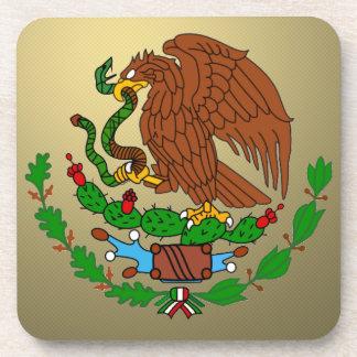 Mexico Coat arms Beverage Coaster