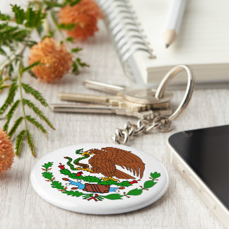 Mexico Coat arms Keychain