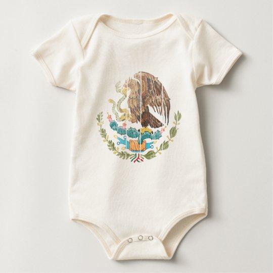 Mexico Coat Of Arms Baby Bodysuit