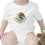 Mexico Coat Of Arms Baby Bodysuits