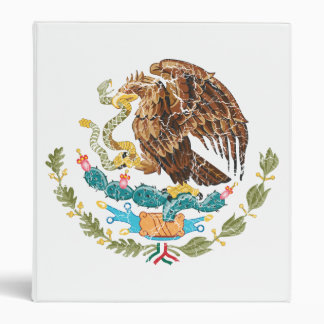 Mexico Coat Of Arms Binder