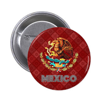 Mexico Coat of Arms Buttons