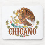 Mexico Coat of Arms Chicano Mouse Pad