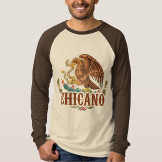 Mexico Coat of Arms Chicano T-shirt