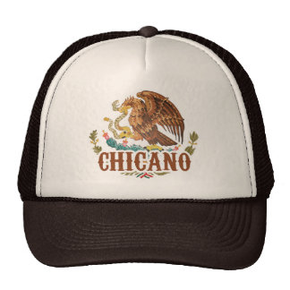 Mexico Coat of Arms Chicano Trucker Hat