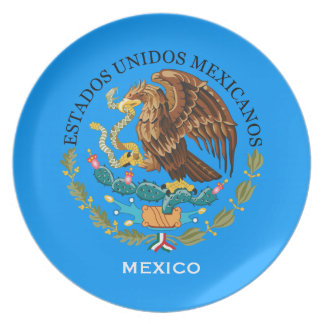 Mexico* Coat of Arms Collector's Plate