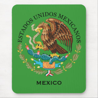 Mexico Coat of Arms Computer Mousepad