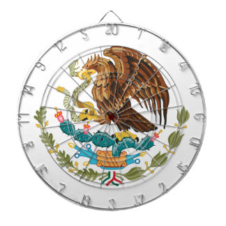 Mexico Coat Of Arms Dart Board