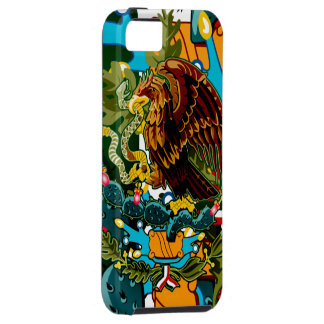 Mexico Coat of Arms Iphone 5 Case-Mate Case