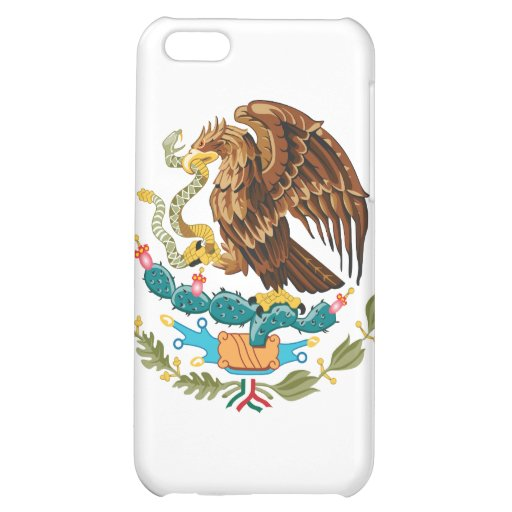 Mexico Coat Of Arms Cover For iPhone 5C