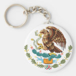 Mexico Coat of Arms Keychain