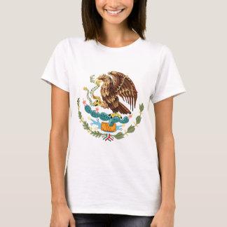 Mexico Coat of Arms Ladies Petite T-shirt
