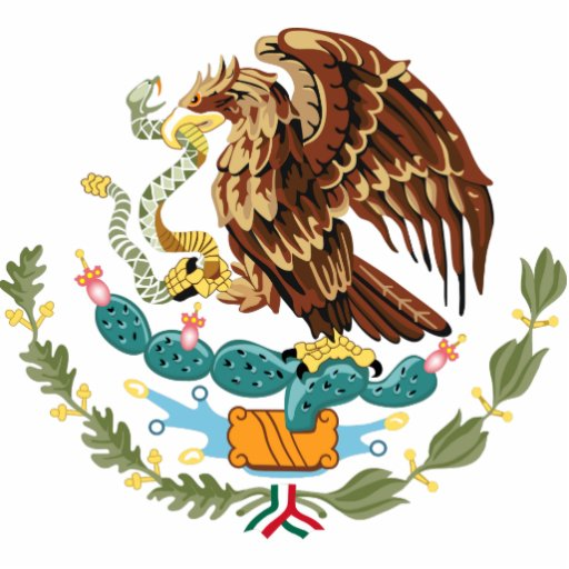 Mexico Coat of Arms Photo Sculpture