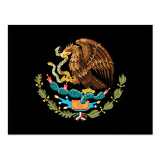 Mexico Coat of Arms Postcard