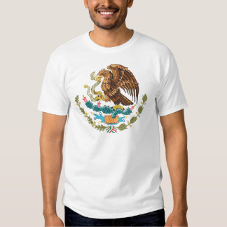 mexico coat of arms tee shirt