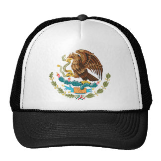 Mexico coat of arms trucker hat